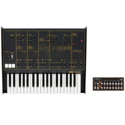 Korg ARP Odyssey FSQ Rev2 Tabletop Duophonic Synthesizer w Step Sequencer