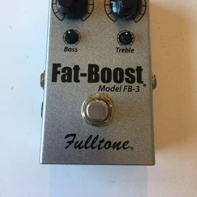 Fulltone Model FB-3 Fat Boost Clean Booster Rare Guitar Effect Pedal