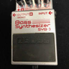 Used Boss SYB-3 Bass Synthesizer TSU2787
