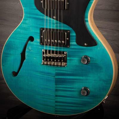 PJD Guitars Carey Elite - Sea Blue for sale