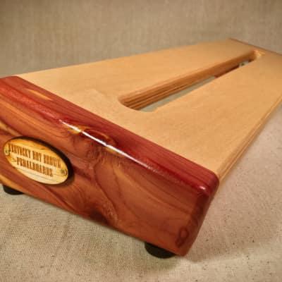 Hot Box 2.0 Standard - Red Cedar Reverse Pedalboard by KYHBPB - P.O.