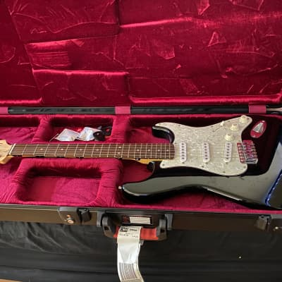 Squier Stratocaster Affinity Series Rosewood Black