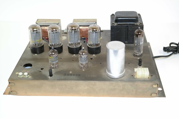 1960's Magnavox Stereo Console Amp Model 8804, Fully Restored, Plug And  Play Ready, British Mullard 6EU7 And 6CA4 And USA 6V6GT Quad