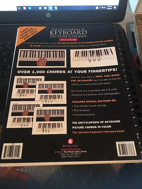 Amsco Publications The Encyclopedia of Keyboard Color Picture | Reverb