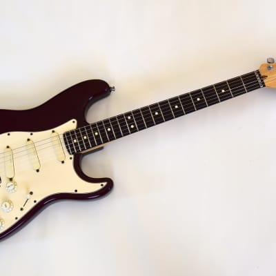 Fender Strat Stratocaster Plus 1993 Midnight Wine Lace Sensors USA Made for sale