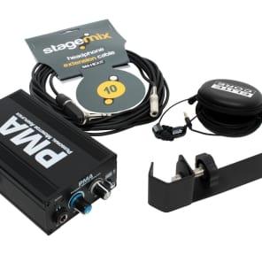 Elite Core Audio EC-PMA-SP-EU-5X Personal Monitor Station Pack with EU-5X Earphones