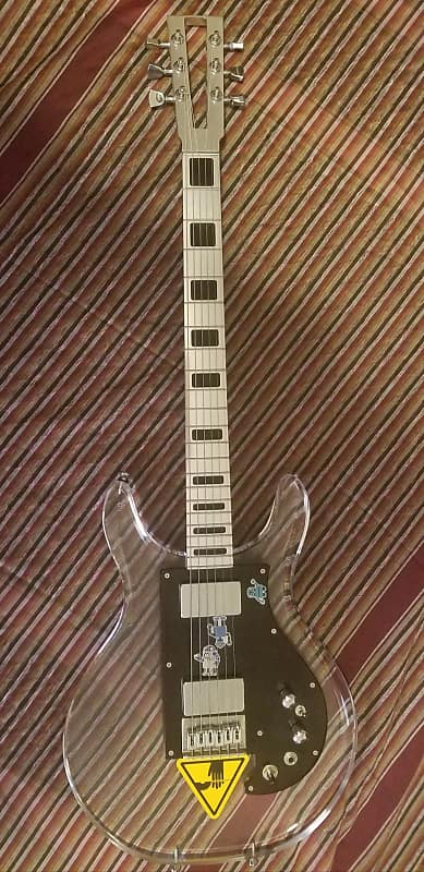 electrical guitar company custom dan armstrong type clear reverb. Black Bedroom Furniture Sets. Home Design Ideas