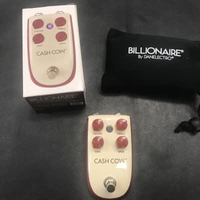 Danelectro  Billionaire Cash Cow Distortion Pedal New! for sale