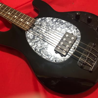 OLP MM2 Ernie Ball Musicman Stingray Type Electric Bass Guitar with Gig Bag 2000's Black for sale