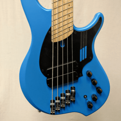 Dingwall NG-2 5 Sena Blue - Maple Fingerboard - Matching Head - SN 4195 for sale