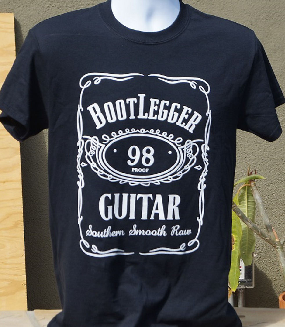 Bootlegger  Southern Smooth Raw black Tshirt Small