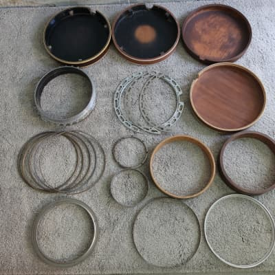 Vintage Openback Banjo Mixed Lot 20+ for Luthier Parts Restore Project Supply