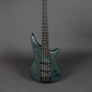 Bone Basses Lane Poor Pickups Custom 4 String Bass for sale