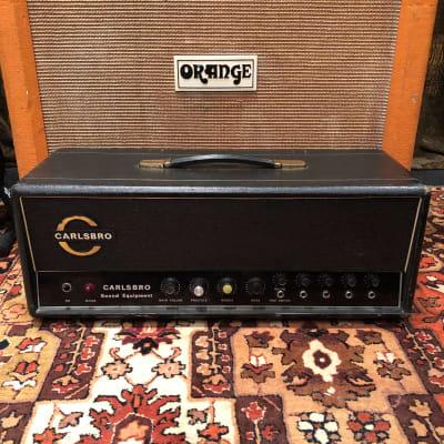 Vintage 1960s Carlsbro CS100 PA Reverb Guitar Valve Amplifier Rare Transformers for sale