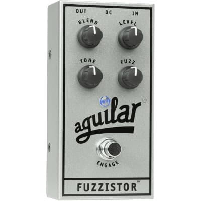 Aguilar 25th Anniversary Fuzzistor Bass Guitar Fuzz Effect Pedal for sale