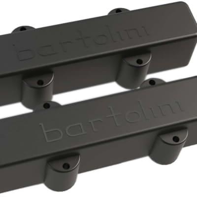 Bartolini 59J1 L/S 5-String J-Bass Split Coil Neck/Bridge Pickup Set, Black