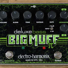 Electro-Harmonix Deluxe Bass Big Muff Pi Distortion/Sustainer MINT