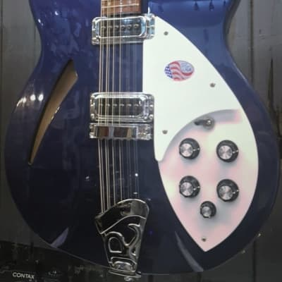 Rickenbacker 330/12 Electric Guitar, Midnight Blue for sale