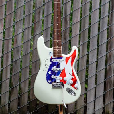 Fender American Standard Stratocaster with Rosewood Fretboard 1986 - 1993 Arctic White Bonnie Raitt