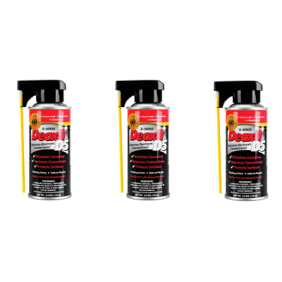 Hosa D5S-6 CAIG DeoxIT Contact Cleaner 5oz 3 Pack Bundle