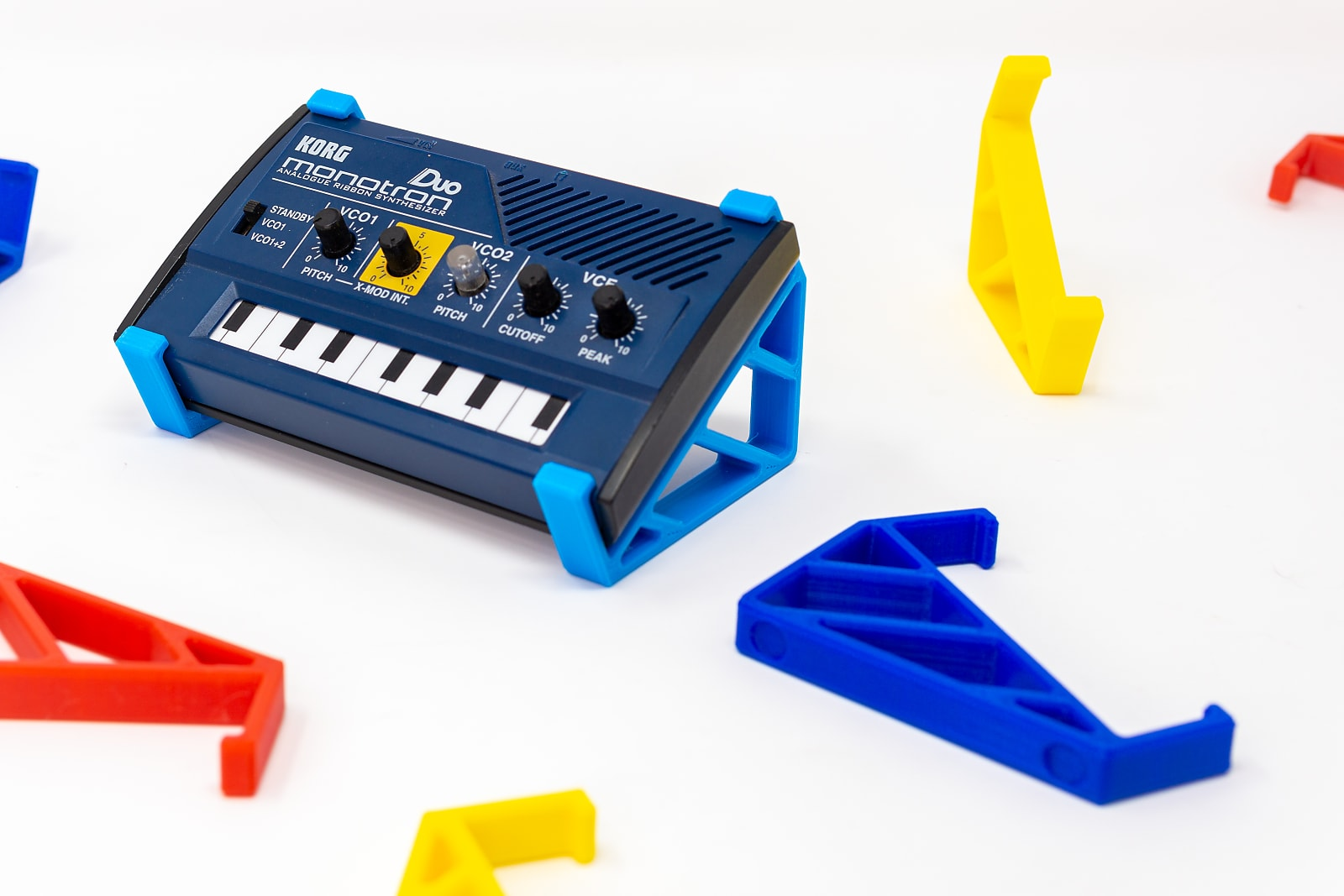 3DWaves Stand for the Korg Monotron Ribbon Synthesizer Series