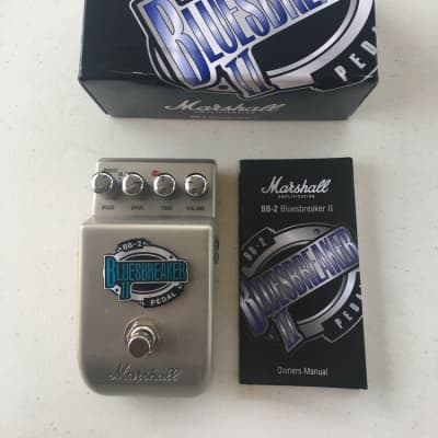 Marshall BB-2 Blues Breaker II Overdrive Clean Boost Booster Guitar Effect Pedal