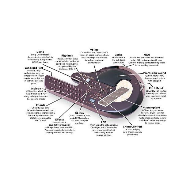 Suzuki Qchord Digital Card Guitar