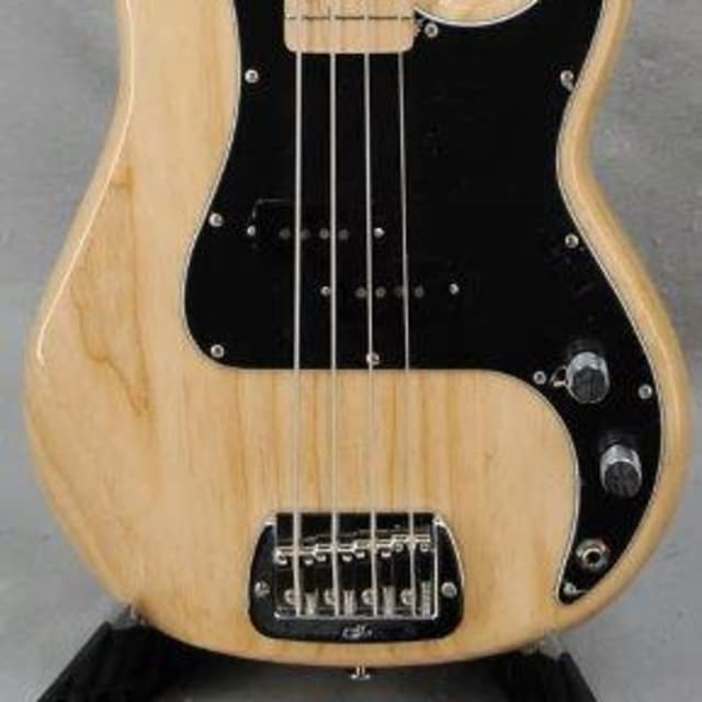 New G&L American LB100 4 String Bass Natural, Swamp Ash Body, Maple Fretboard w/Case image