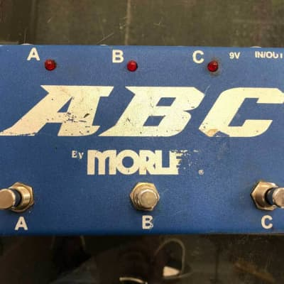 Morley ABC 3-Button Switcher/Combiner Pedal (Pre-Owned)