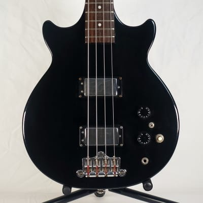 The Pearl Guitar Co. Export Bass Genesis Shape Vintage 1970s Matsumoku Japan Black 70s for sale