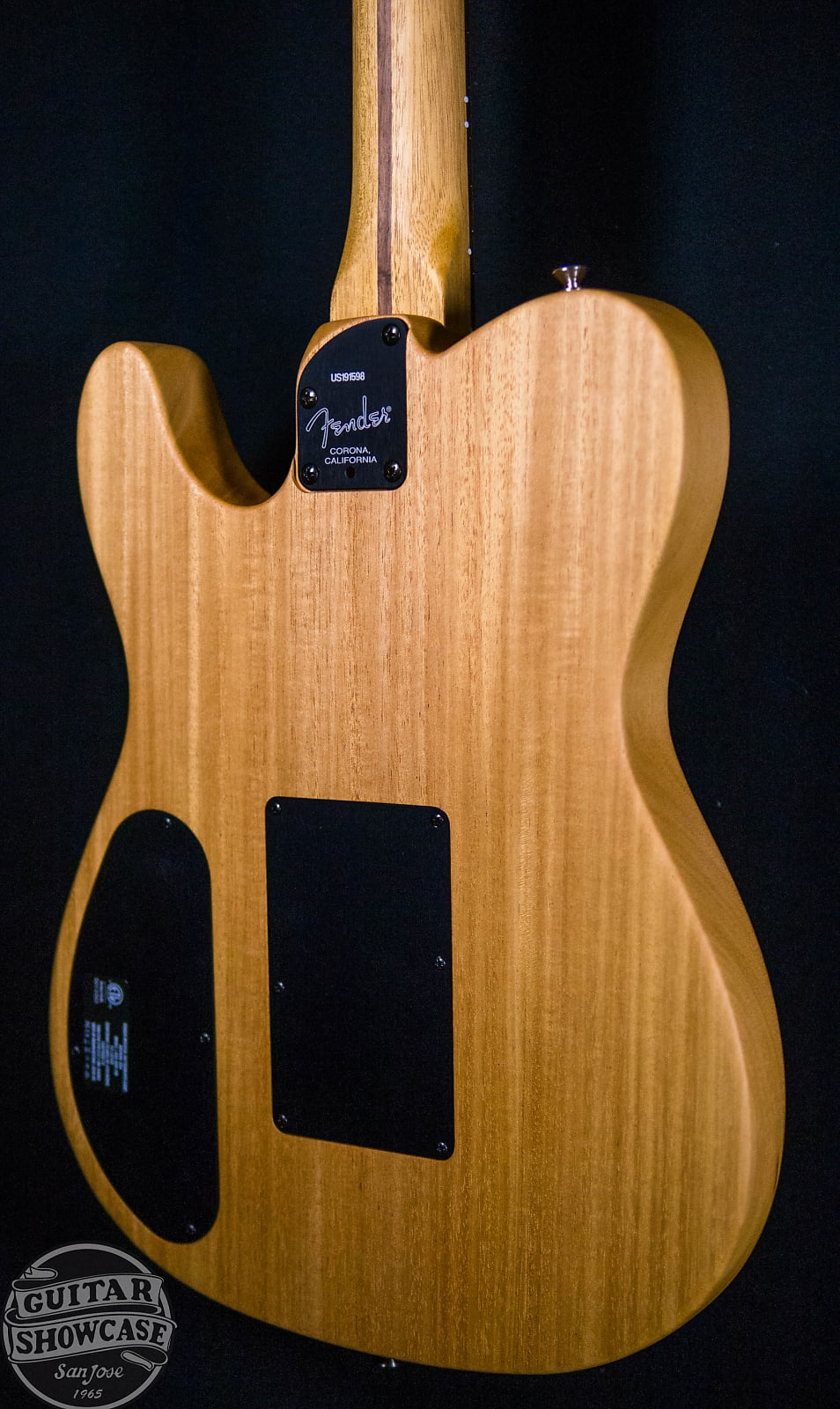 Fender Acoustasonic Telecaster Guitar Natural