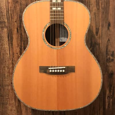 James Cooper Pearl River 2 Acoustic Electric Guitar Natural #31 w/ Gig Bag for sale