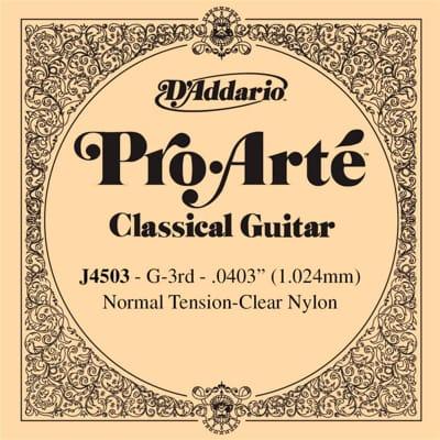 D´Addario ProArte J4503 G Single Classical Guitar String