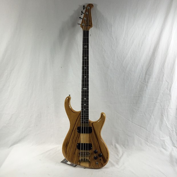 Alembic Elan HLSB-2AXY 1990 4-String Bass Guitar with Case