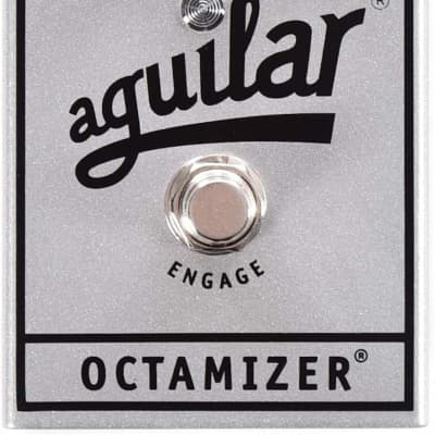 Aguilar Octamizer Analog Bass Octave Pedal 25th Anniversary Silver for sale