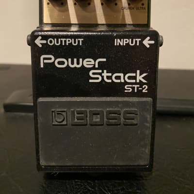 Boss ST-2 Power Stack Distortion Pedal