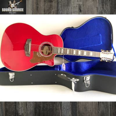 D'Angelico D'Angelico Fulton 12 String Acoustic-Electric, Hard Case for sale