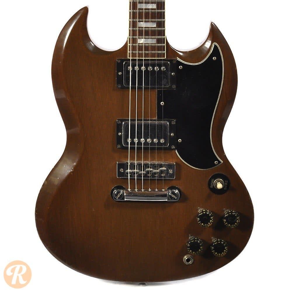 Gibson Sg Standard 1972 Walnut Price Guide Reverb