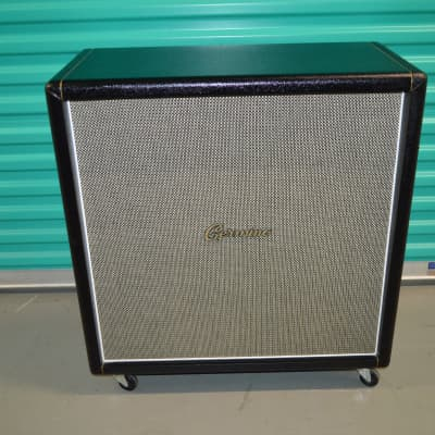 Germino 4x12 Straight Cabinet w/ Greenbacks 100Watts 16 Ohms for sale