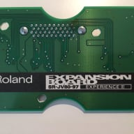 Roland  SR-JV80-97 Experience III  Green Expansion Board