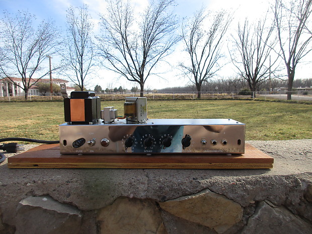 Carl's Custom Amps Texas Tremolo Working Chassis Tweed Vibrolux Style With  Tube Set
