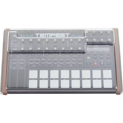 Decksaver DS-PC-TEMPEST Dave Smith Instruments Tempest Impact Resistant Polycarbonate Cover - Smoked