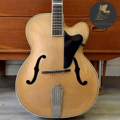 Hüttl Joker Archtop Guitar  1960s Gold Hammersmith for sale