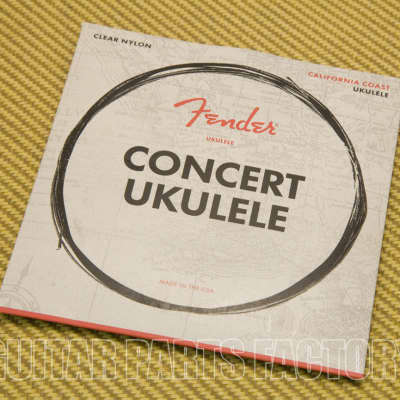 Fender 90C California Coast Nylon Concert Ukulele Strings