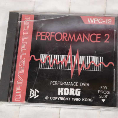 Korg Wavestation WPC-12 Performance 2 ROM Card