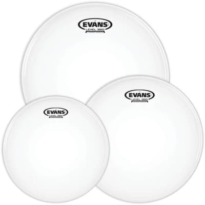 Evans G1 Coated 3-piece Tom Pack - 10/12/14 inch
