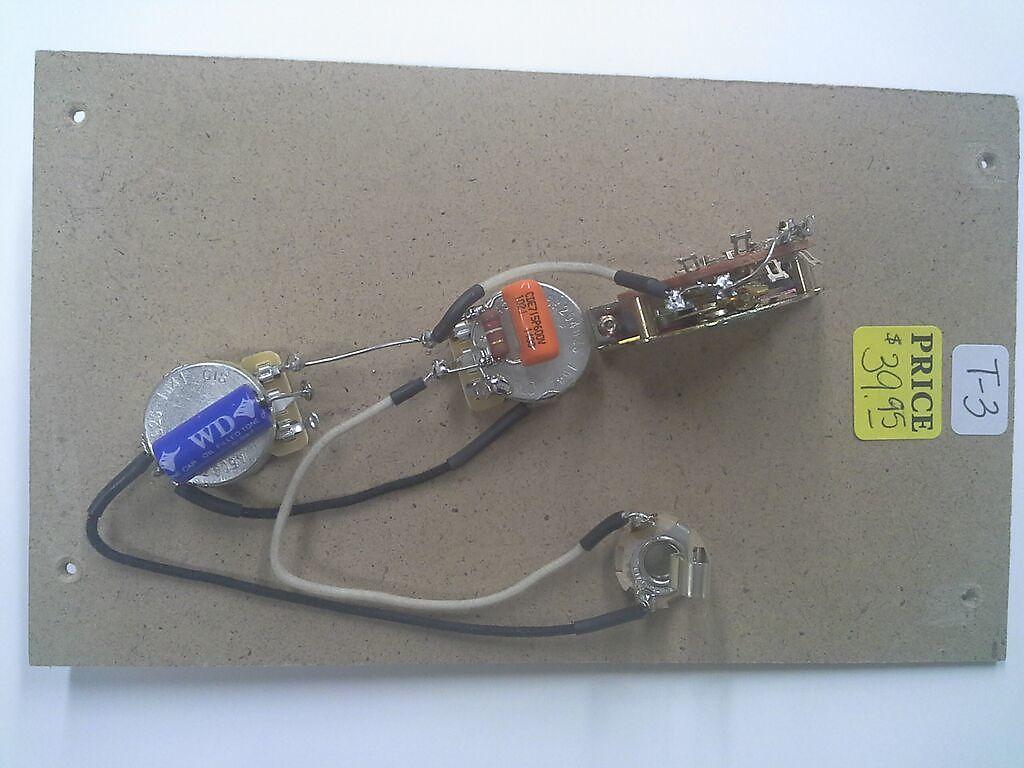 Tele Style Pre-Wired Guitar Control Kit w/3 way Selector Switch/Free on fender tele wiring, squier tele wiring, tele guitar dimensions, tele wiring jack, tele guitar body, tele pickups, tele bass wiring, precision bass wiring, fender jazz bass wiring, tele guitar kits,