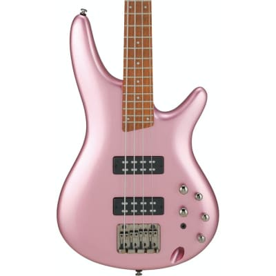 Ibanez SR300E-PGM SR BASS, 4 string, PDC pickups, Maple Body, Pink Gold Metallic for sale