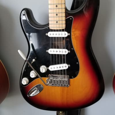 Fender American sunburst STRAT LEFTY  1990 for sale