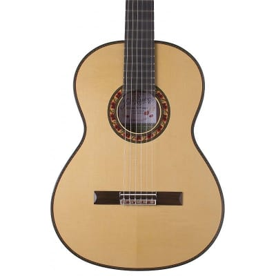 Ramirez Guitarra Del Tiempo Studio Commemorative Classical Spuce Top w/HSC for sale